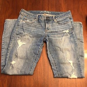 American Eagle sparkle jeans